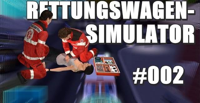 Rettungswagen-Simulator 2014 #002 – Blaulicht und Martinshorn!