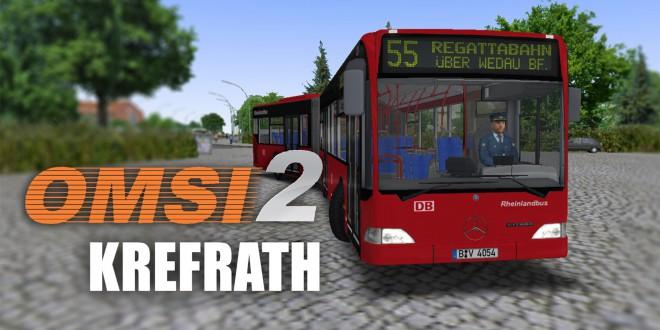 OMSI 2: Krefrath mit dem O530G Linie 55 zur Regattabahn – Führerscheinprüfung!