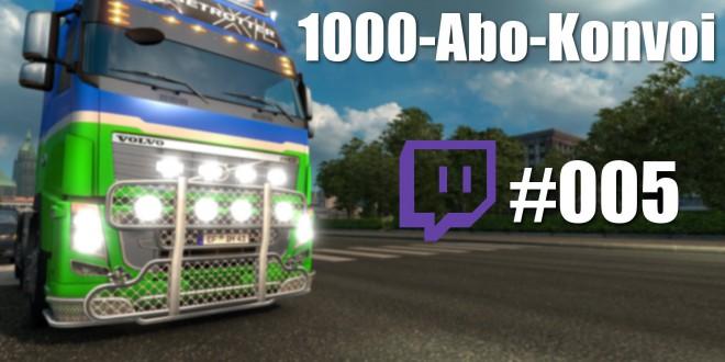 Der MEGA ETS 2 1000-Abo-Konvoi! #005 – Ziel erreicht!
