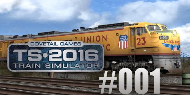Train Simulator 2016: Union Pacific Railroad mit der Gasturbine #001 – Langsam anfahren!