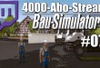 4000-Abo-Stream #007 – Große Kran Probleme   Bau-Simulator 2015