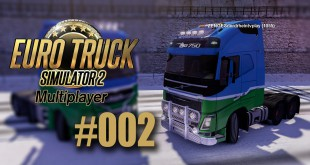 ETS 2 Multiplayer #002 – Der Weg nach Dover