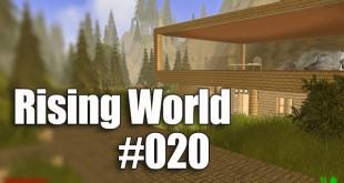 Rising World #020: Die erste Straße!