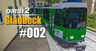 OMSI 2 Projekt Gladbeck 2016 mit der Straßenbahn Tatra KT4Dtm #002 – Schöne U-Bahn-Haltestellen!