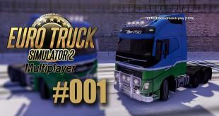 ETS 2 Multiplayer #001 – Zu zweit durch den Schnee