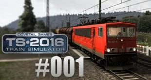 Train Simulator 2016: Mit der Br 155 auf der linken Rheinstrecke #001 – Der Kasten auf 6 Achsen