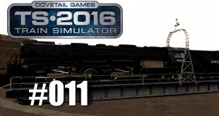 Train Simulator 2016 – Mit der Challenger auf der Drehscheibe #011   Mit Trainsalp