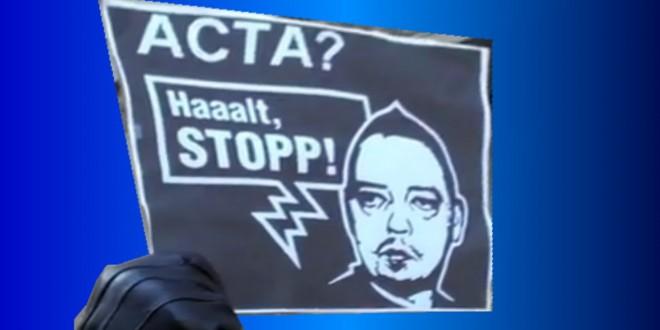 ACTA-Demo in Düsseldorf