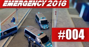 EMERGENCY 2016 #004 – Demonstration auflösen