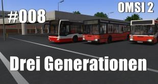 OMSI 2 Drei Generationen #8 – Tückische Fahrmanöver