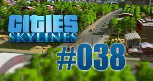 Cities: Skylines #038 – Massiver Ausbau des Schienennetzes