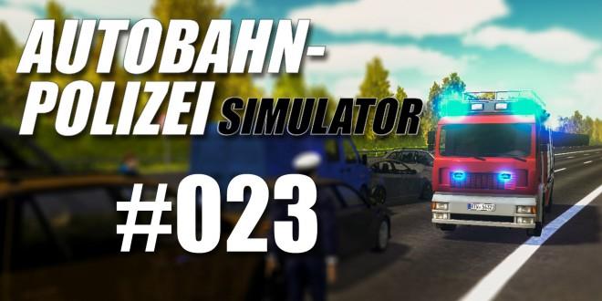 Autobahnpolizei-Simulator #023 – Umgekippter LKW! – Freies Spiel