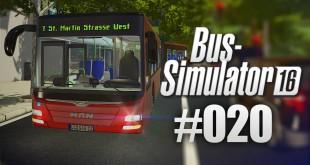 BUS-SIMULATOR 16 #20 – Bitte keine Maus-Lenkung! | Let's Play Bus Simulator 2016 deutsch HD