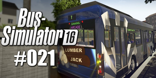 bus simulator 16 21 geld durch werbung let s play bus. Black Bedroom Furniture Sets. Home Design Ideas