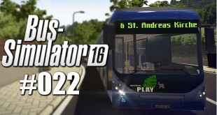 BUS-SIMULATOR 16 #22 – Sprüche klopfen | Let's Play Bus Simulator 2016 deutsch HD