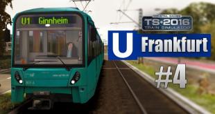 Train Simulator 2016: U-Bahn Frankfurt #4 – Auf der U3 mit Talk über Rheinbahn-Technik