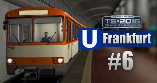 Train Simulator 2016: U-Bahn Frankfurt #006 – Schöner Duewag U2 U-Bahn-Wagen!