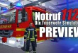NOTRUF 112 – Die Feuerwehr-Simulation GAMEPLAY PREVIEW mit Fahrzeugen, Blaulicht und Martinshorn!