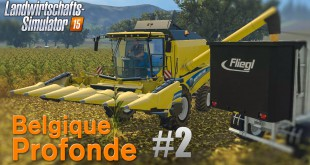LANDWIRTSCHAFTS-SIMULATOR 15 #2: Dreschen in Belgique Profonde! Farming Simulator 15