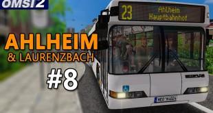 OMSI 2: NEOPLAN N4016 2-Türer auf Ahlheim und Laurenzbach #8 – Mein DEUTSCH-GESCHICHTE!