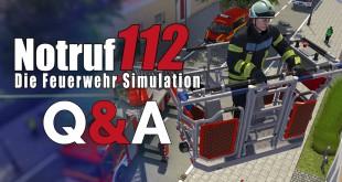 NOTRUF 112 – Die Feuerwehr-Simulation Entwickler Q&A: Multiplayer, Release, Demo und Lenkrad!