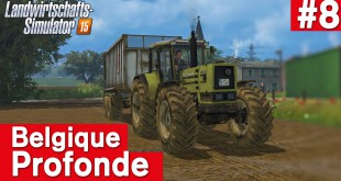 LANDWIRTSCHAFTS-SIMULATOR 15 #8: Aufnahmeprogramme! Belgique Profonde Farming Simulator 15