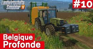 LANDWIRTSCHAFTS-SIMULATOR 15 #10: Herbizide und Fungizide schädlich? Belgique Profonde