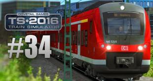 TRAIN SIMULATOR 2016: BR 440 Alstom Coradia Continental #034 – Die armen Fahrgäste!