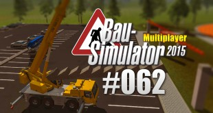 Bau-Simulator 2015 Gold Multiplayer #062 – Stadion-Tribüne bauen! CONSTRUCTION SIMULATOR