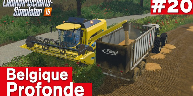 LANDWIRTSCHAFTS-SIMULATOR 15 #20: GAMESCOM-Zeit! Belgique Profonde