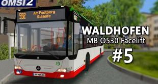 OMSI 2: MB O530 Facelift in WALDHOFEN #5 – Ehrenrunde!