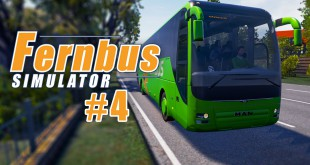 FERNBUS SIMULATOR #4: Quer durch den Ruhrpott! I Let's Play Fernbus Simulator deutsch
