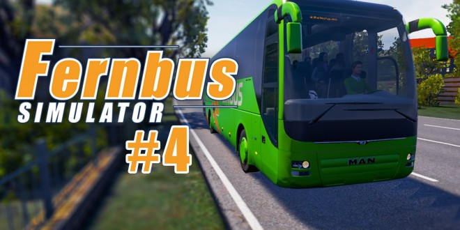 FERNBUS SIMULATOR #4: Quer durch den Ruhrpott! I Let's Play Fernbus Simulator deutsch