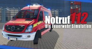 NOTRUF 112 – Die Feuerwehr-Simulation: Erstes DLC mit neuem Fahrzeug und Einsätzen!