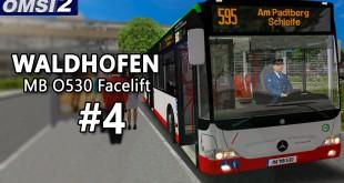 OMSI 2: MB O530 Facelift in WALDHOFEN #4 – Kurvenfahrt und Linienwechsel!