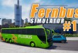 FERNBUS SIMULATOR #1: Start in Düsseldorf am Depot! I Let's Play Fernbus Simulator deutsch