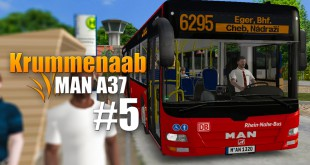 OMSI 2: Krummenaab mit dem MAN A37 #5 – Mit der DB angekommen in Cheb Nadrazi!