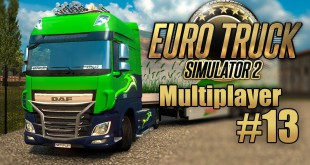 Euro Truck Simulator 2 Multiplayer #13: Mit den Burning-Gamers durch England! I ETS 2 deutsch