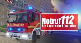 NOTRUF 112: CONTAINERBRAND – Einsatz für die Feuerwehr I N112 Feuerwehr-Simulator