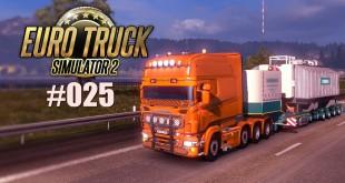 Euro Truck Simulator 2 #025: Schwerlast und Promods mit an Bord! Let's play ETS 2 deutsch
