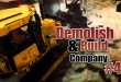DEMOLISH AND BUILD COMPANY 2017 #4: SCHROTTPLATZ! Let's Play Demolish Simulator 17