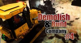 DEMOLISH AND BUILD COMPANY 2017 #4: SCHROTTPLATZ! Let's Play Demolish Simulator 17