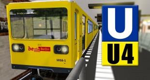OMSI 2: U-Bahn Linie U4 in Berlin mit der Gisela G I/1!