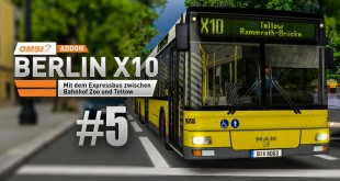 OMSI 2: MAN Stadtbusfamilie #5: Mit dem 15m-Bus MAN NL 313-15 auf Berlin X10!