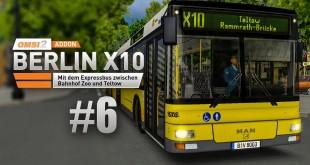 OMSI 2: MAN Stadtbusfamilie #6: 15m-Bus MAN NL 313-15 in Berlin auf der Expresslinie!
