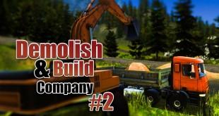 DEMOLISH AND BUILD COMPANY 2017 #2: Reiß die Hütte ein! Let's Play Demolish Simulator 17