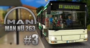 OMSI 2: MAN Stadtbusfamilie #3 – Mit dem MAN NÜ 263 Überlandbus durch Ahlheim und Laurenzbach!