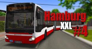 OMSI 2: Hamburg mit dem Doppelgelenkbus #4: Durch die Straßen mit dem MB Citaro 2 XXL!
