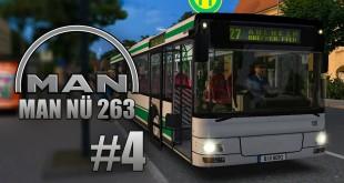 OMSI 2: MAN Stadtbusfamilie #4 – Mit dem MAN NÜ 263 Überlandbus am Ziel in Ahlheim und Laurenzbach!