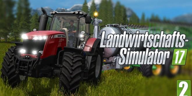 FARMING SIMULATOR 17 #2: Der Start auf dem Hof im Landwirtschafts-Simulator 2017! I Gameplay LS17